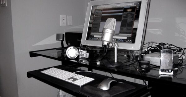 How I Created a Podcast Studio for Less Than $150