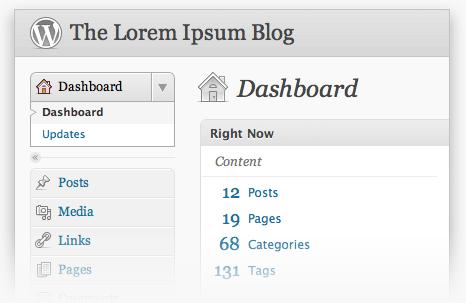 WordPress Permalink Migration - Dashboard