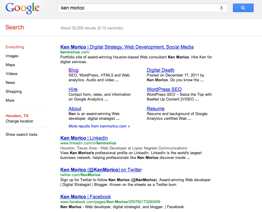 Use SEO to Own Your Good Name, Brand, and Competition