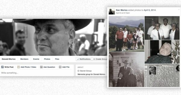 Create Memorial Pages Using Facebook Groups